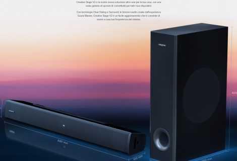 Creative Stage V2: la soundbar per l'Home Cinema