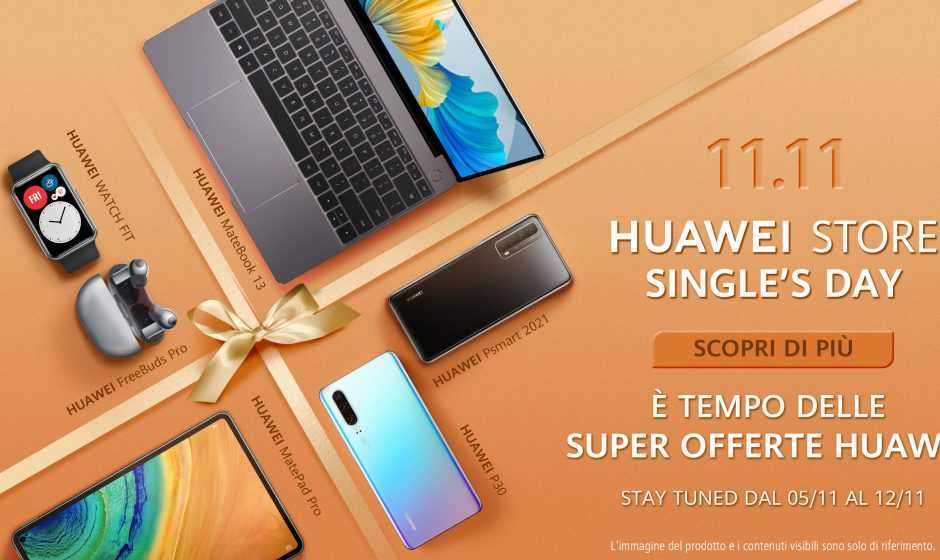 11.11 Huawei Store Single's Day: una settimana di offerte