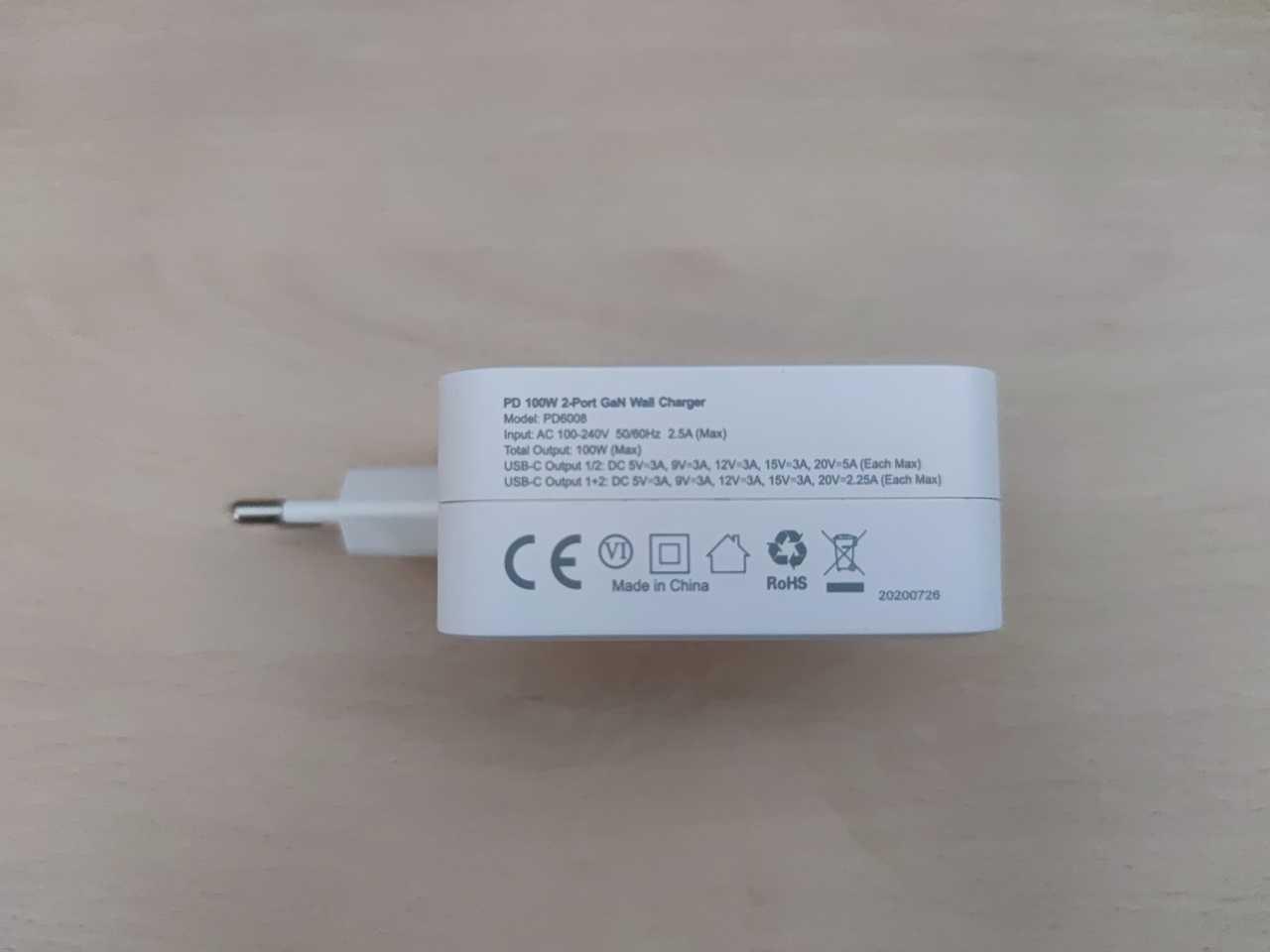 Recensione Choetech PD6008: alte prestazioni in dimensioni molto ridotte