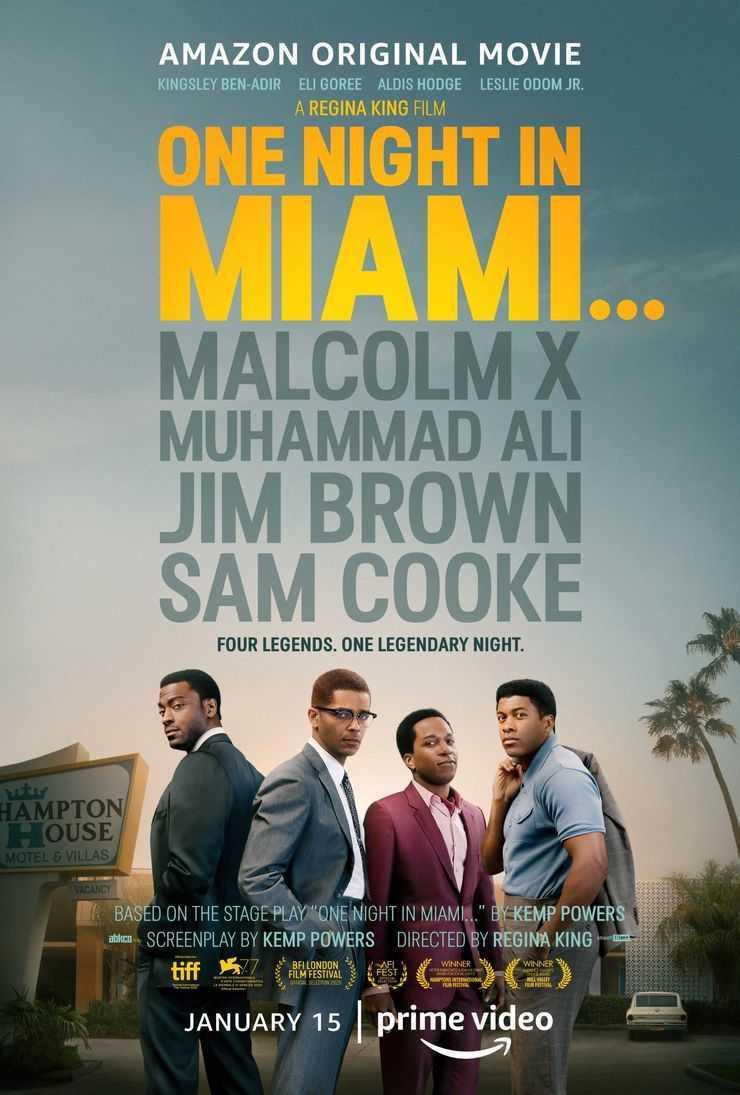 One Night in Miami: diffuso il trailer del film di Regina King