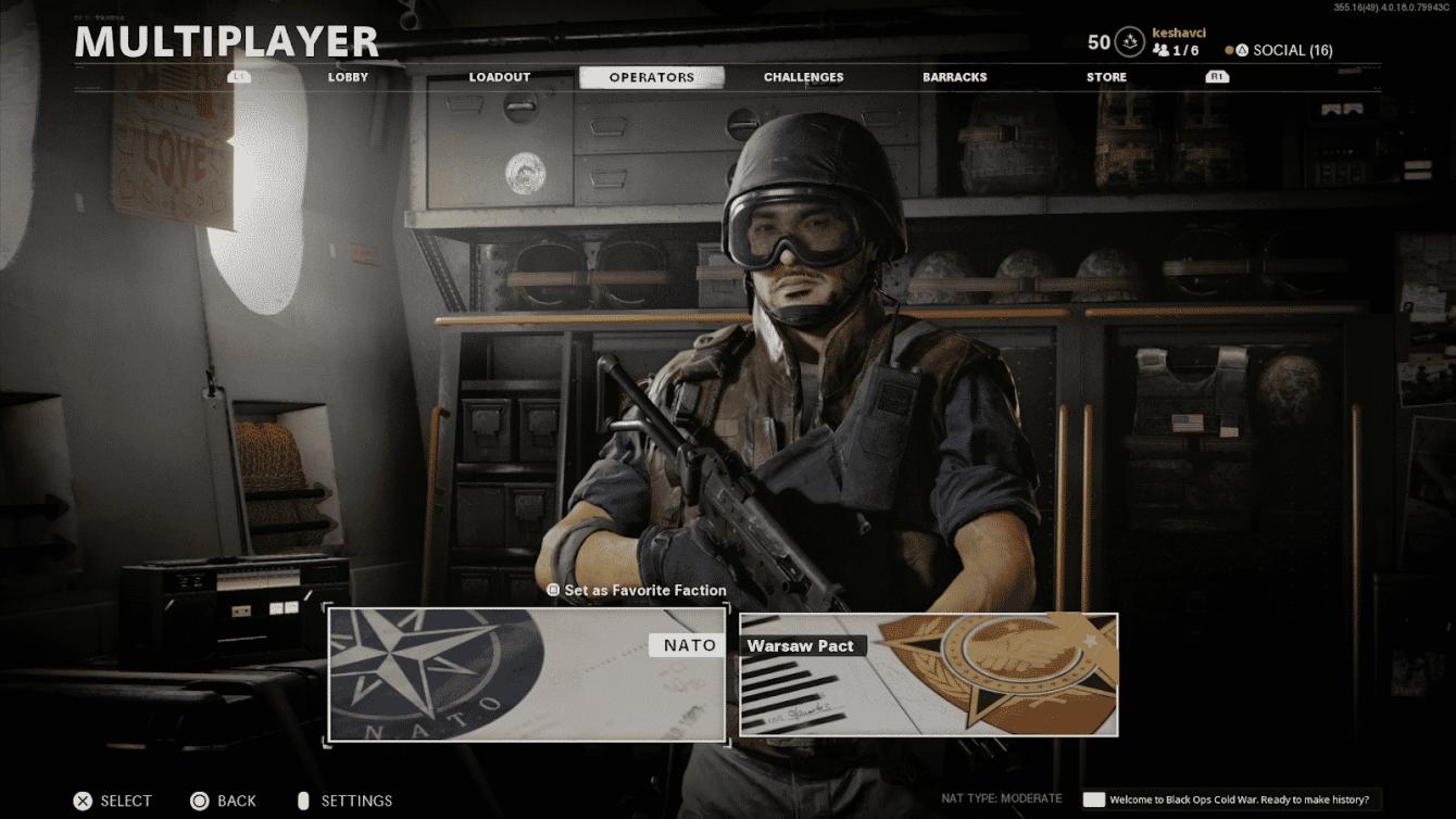 Come sbloccare gli operatori in CoD Black Ops Cold War