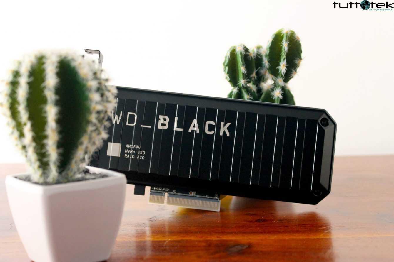 Recensione WD BLACK AN1500: vi serve davvero il PCIe 4.0?