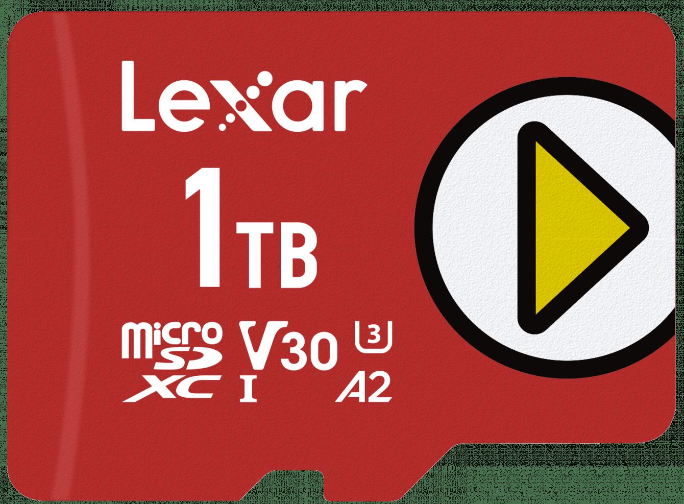 Lexar presenta la nuova PLAY microSDXC UHS-I