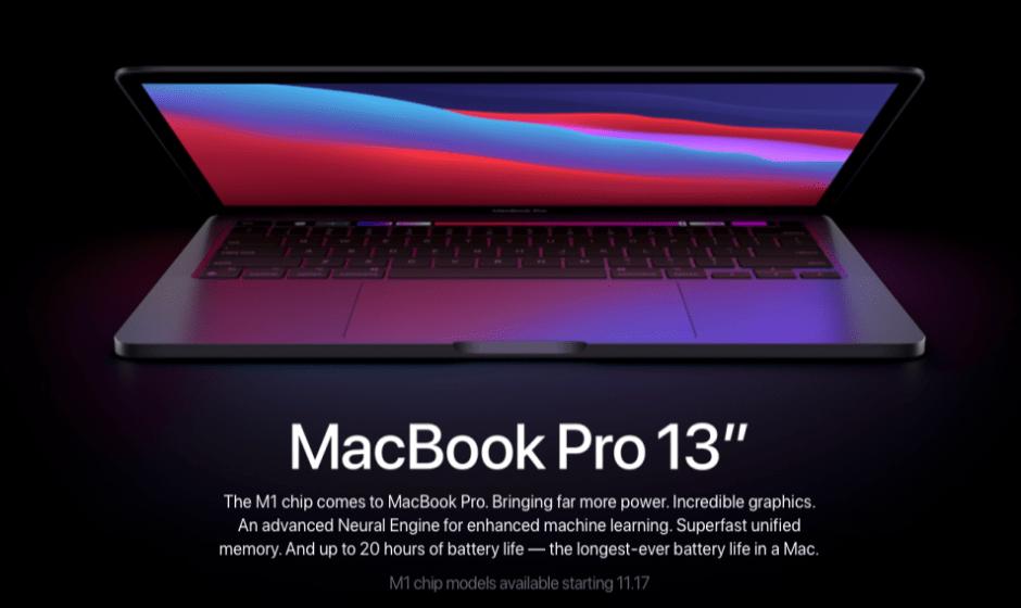 MacBook Pro M1: tutte le novità annunciate da Apple