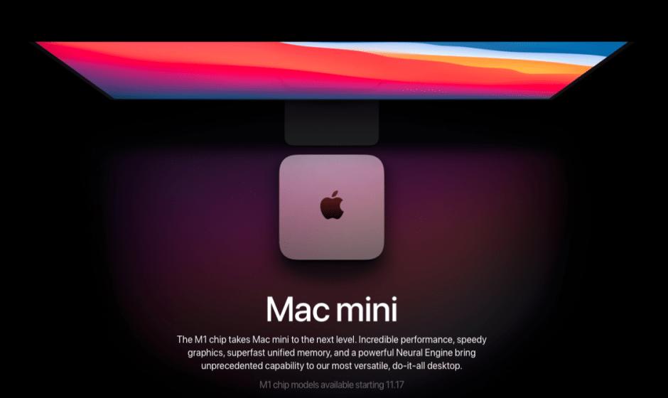 Mac mini M1: tutte le novità annunciate da Apple