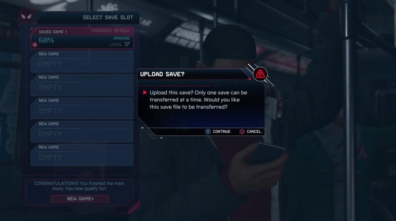Spider-Man: Miles Morales, guida su come trasferire i dati da PS4 a PS5