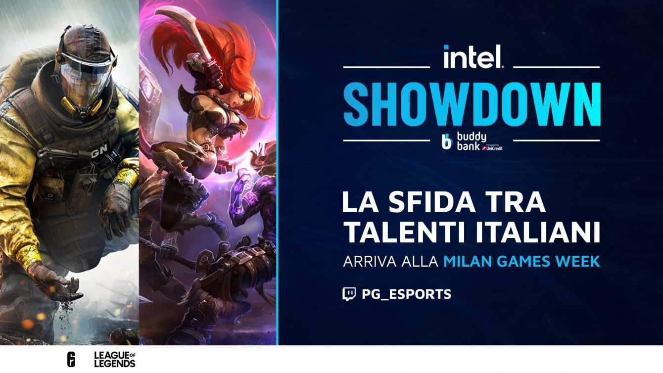 MGW-X: Il meglio dell'eSport italiano nell'Intel Showdown