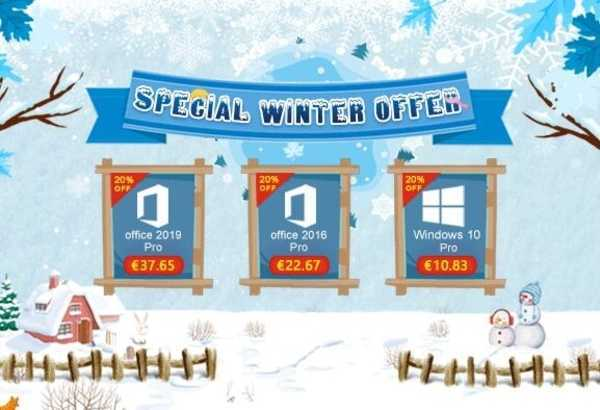 U2Key Winter Sales: Windows 10 Pro a €10.83 e Office 2019 Pro a €37.65