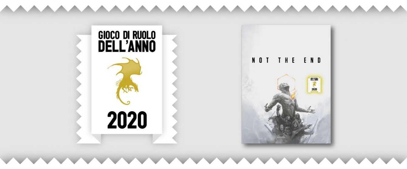 Not The End è Gioco di Ruolo dell'Anno 2020