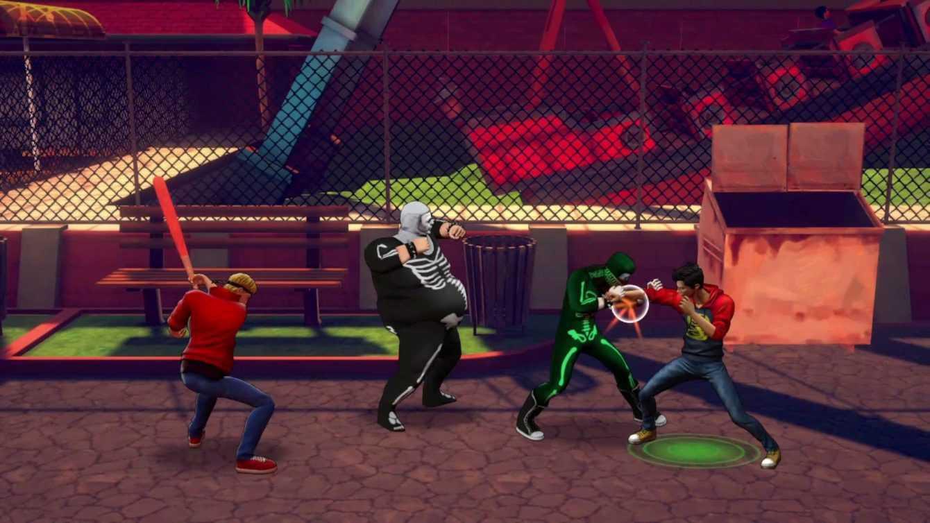 Recensione Cobra Kai The Karate Kid Saga Continues: cintura bianca di beat 'em-up