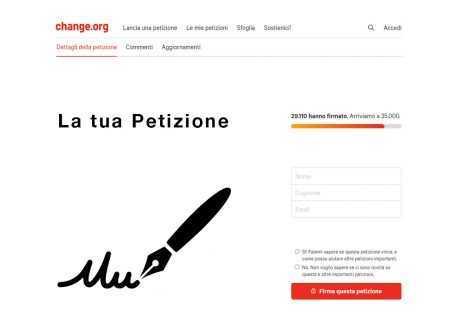 Come fare una petizione online