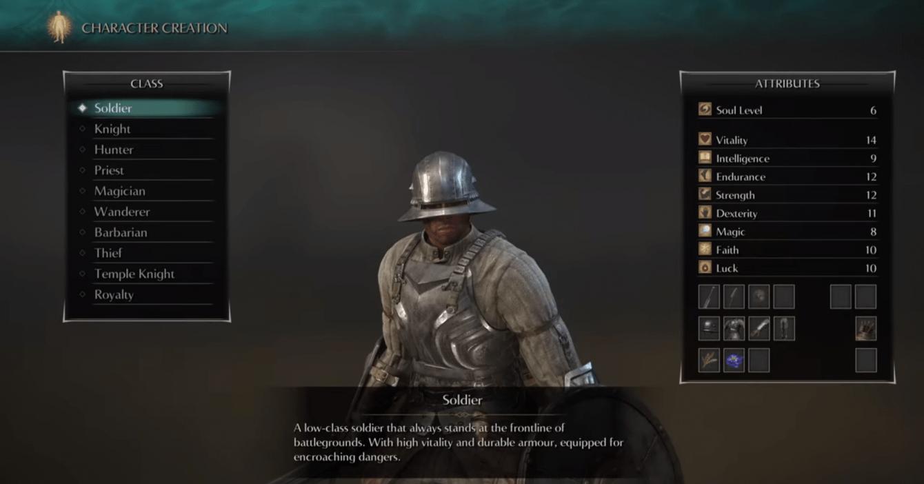 Demon's Souls: ecco le migliori classi per iniziare a giocare