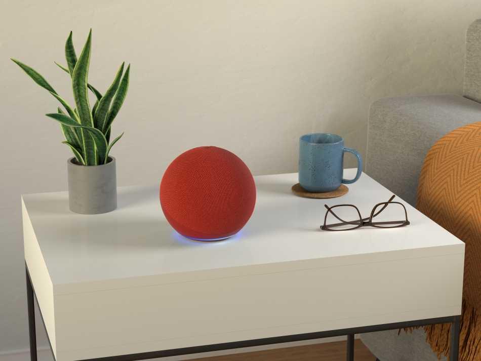 Ecco Amazon Echo (Red) in edizione limitata