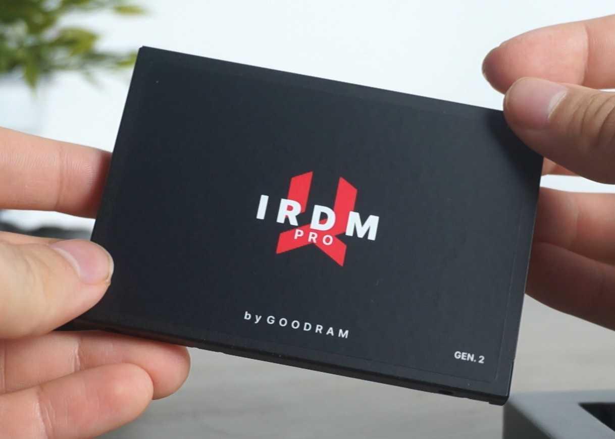 Recensione SSD GOODRAM IRDM PRO gen.2: memoria granitica