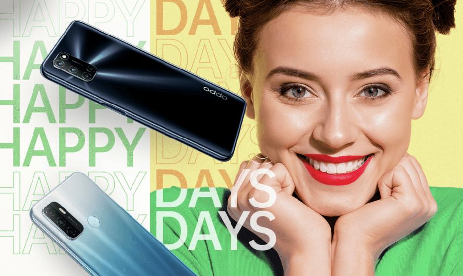 Oppo Green Days: tutte le offerte per il mese di ottobre