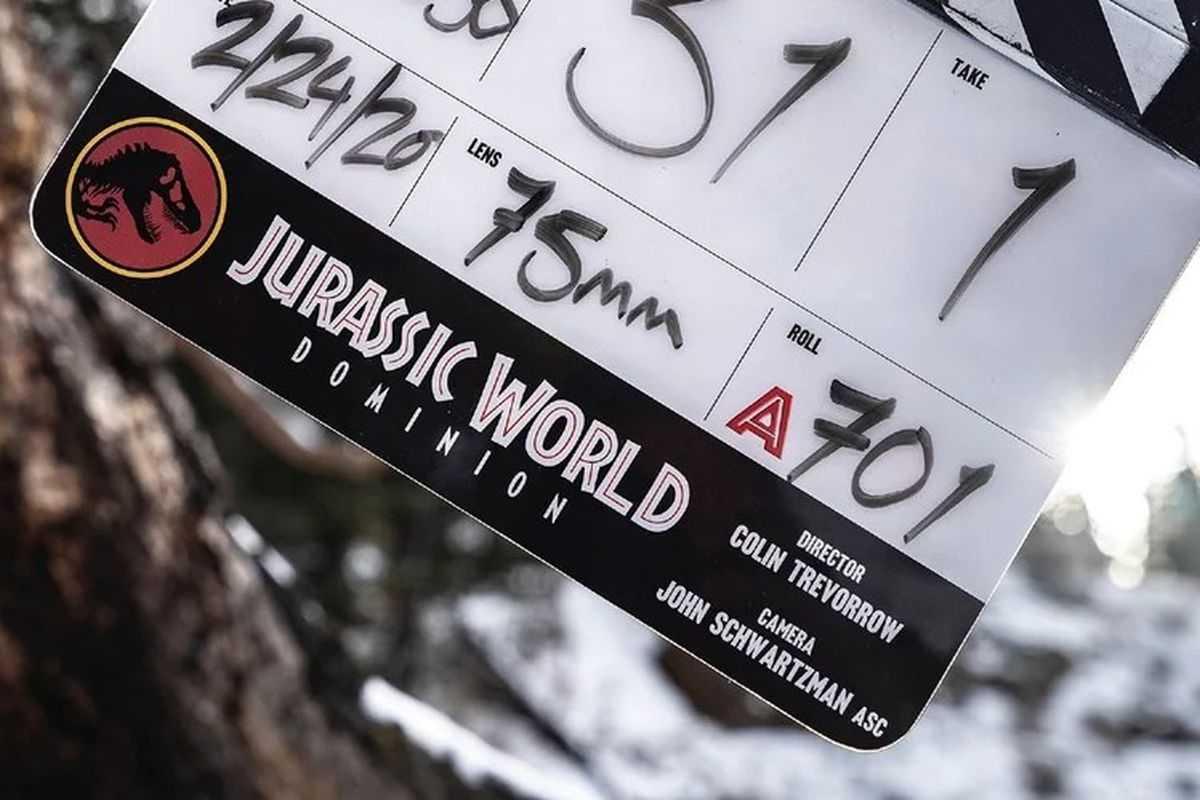 Jurassic World, Dominion: terminate le riprese