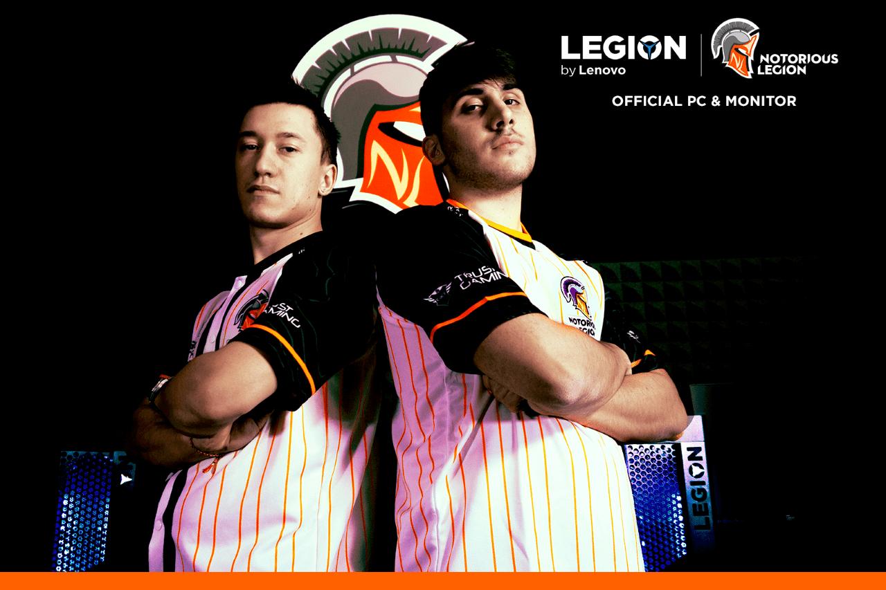Notorious Legion e Lenovo Italia insieme per l'eSport!