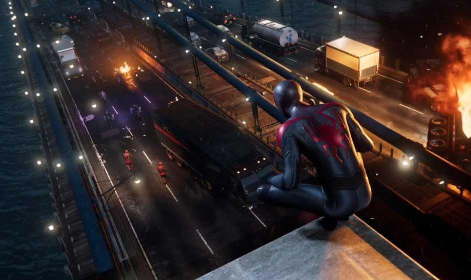 Spider-Man Miles Morales: un assurdo glitch trasforma Miles in un mattone!