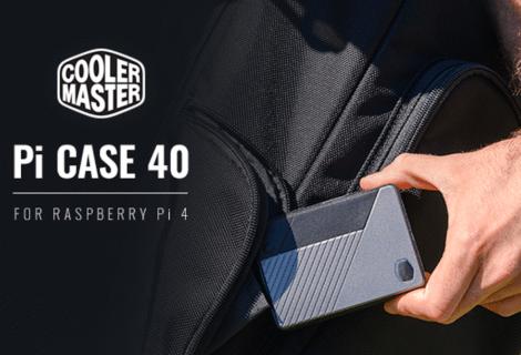 Cooler Master Pi Case 40: case per Raspberry Pi