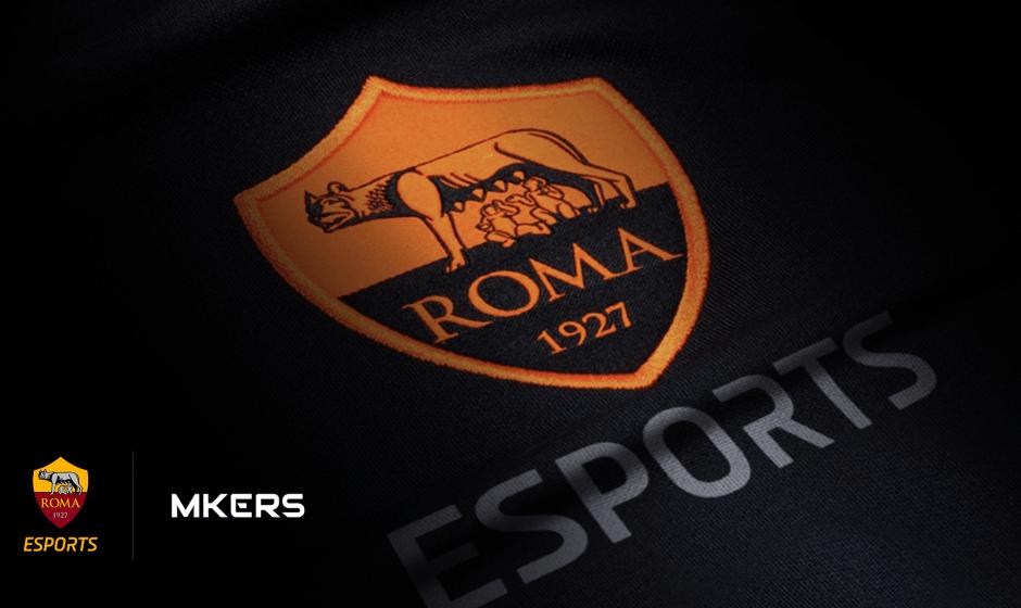 AS Roma e Mkers insieme per gli eSports!