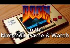 DOOM: anche il Game & Watch di Super Mario Bros. lo regge