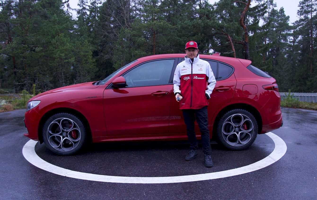 Kimi Räikkönen sceglie Stelvio per la sua vita lontano dai circuiti