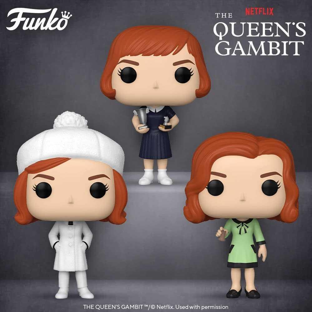 La Regina degli Scacchi: arrivano i nuovi Funko Pop!