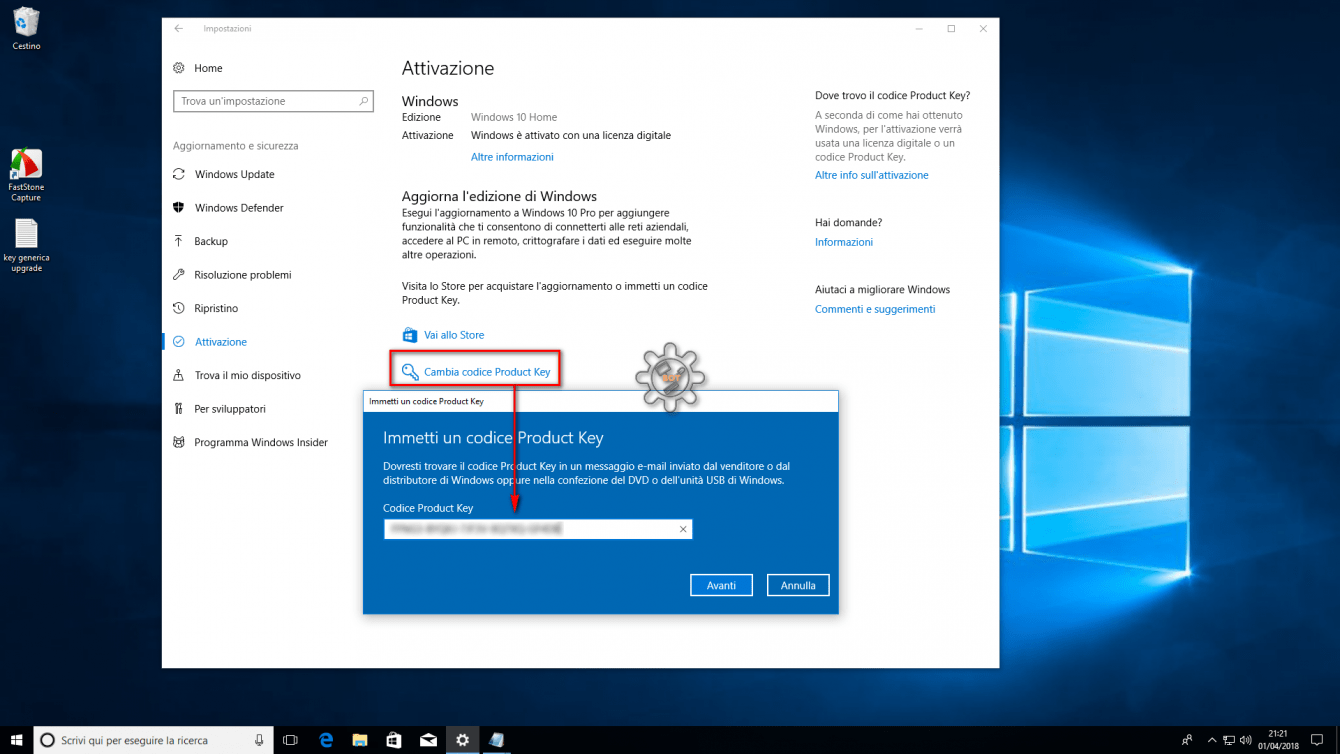 Windows 10 OEM: chiavi valide per sempre a soli 12 euro!