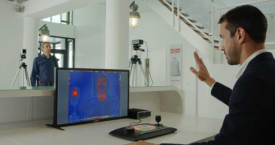 Bosch: ecco la nuova soluzione per il rilevamento della temperatura cutanea