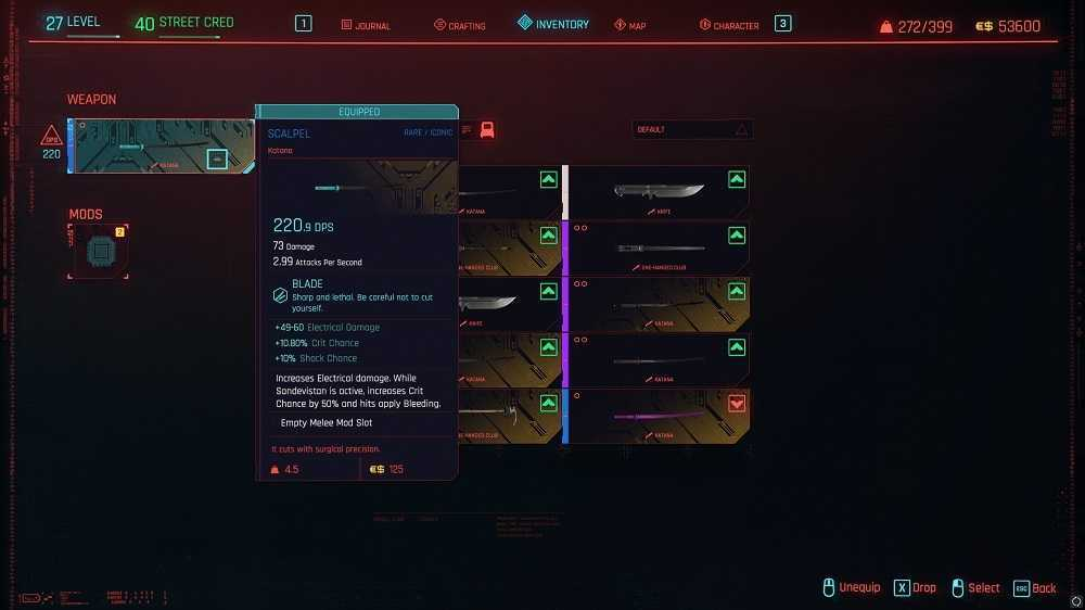 Cyberpunk 2077: dove trovare le armi migliori
