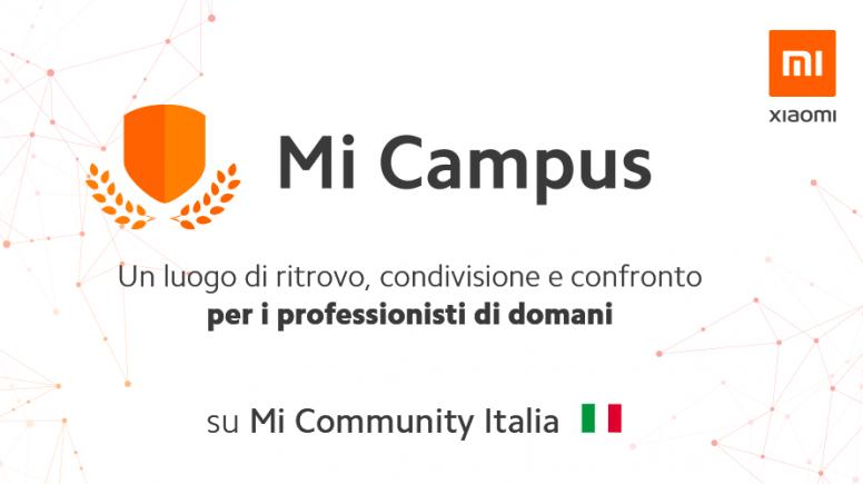 Mi Campus: Xiaomi entra nelle università a fianco degli studenti