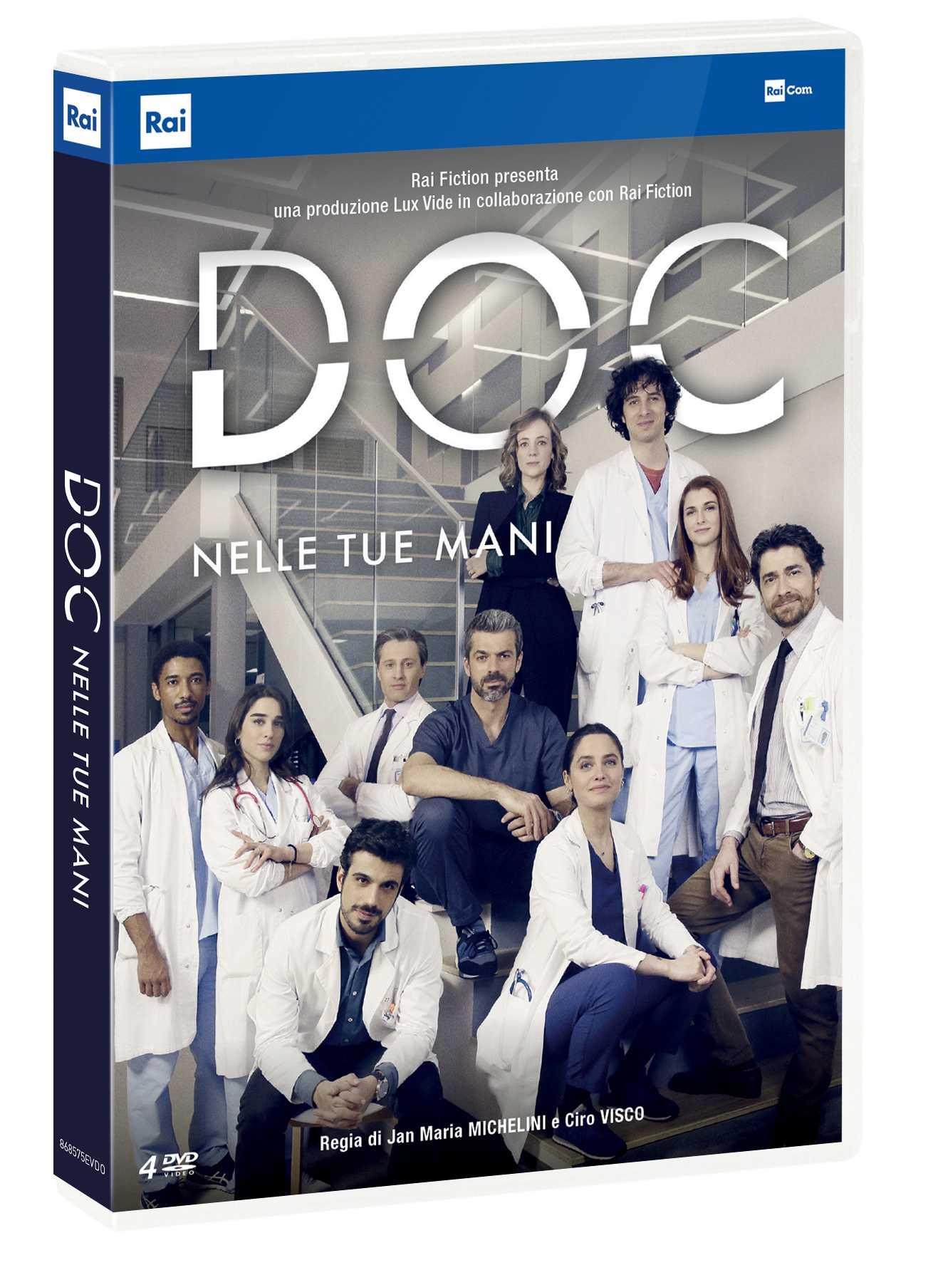 Recensione DVD cofanetto: Doc - Nelle tue mani, la serie Rai con Argentero