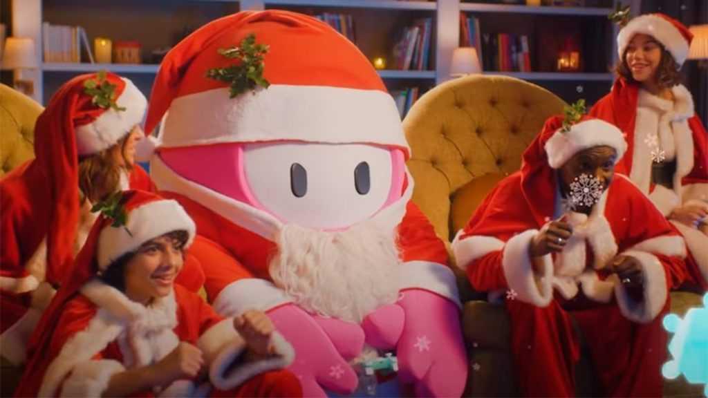 Fall Guys: aggiunto un nuovo costume da Babbo Natale