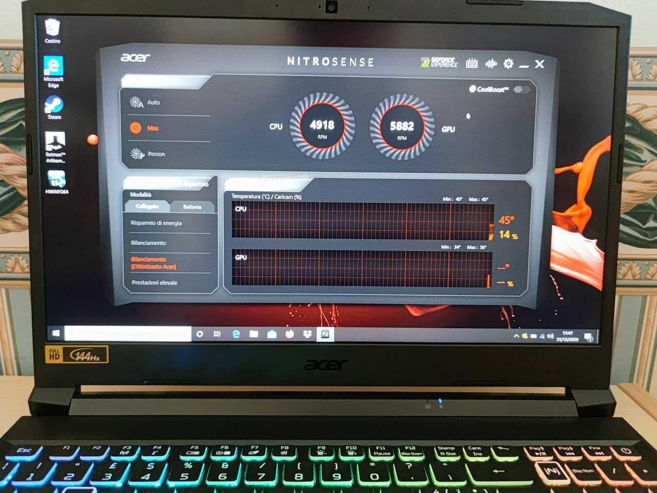 Recensione Acer Nitro 5: il laptop da gaming economico