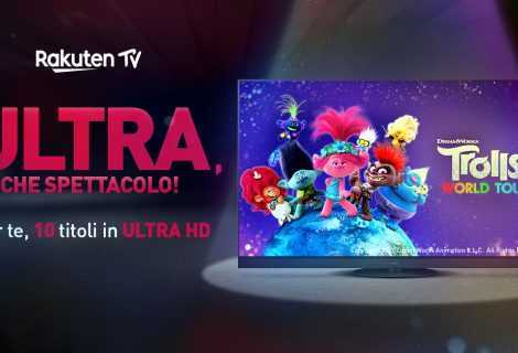 """Panasonic e Rakuten TV insieme per la promozione """"Ultra che spettacolo!"""""""
