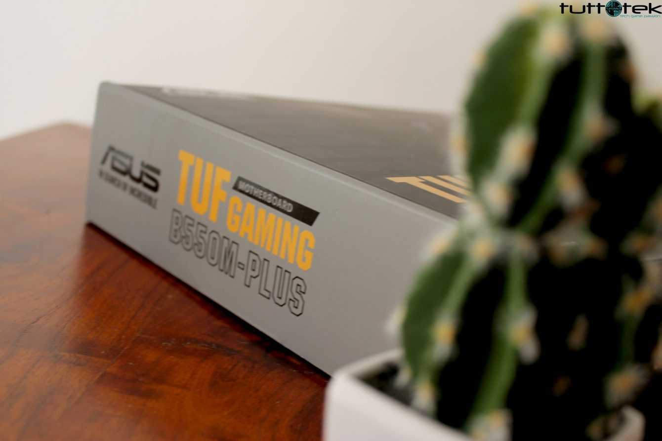 Recensione ASUS TUF Gaming B550M-Plus: pronta per Ryzen 5000