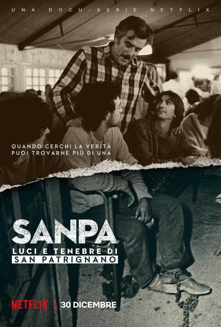 SanPa: Luci e Tenebre di San Patrignano, la prima docu-serie italiana Netflix