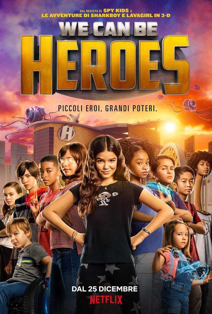 We can be heroes: trailer e immgini promozionali