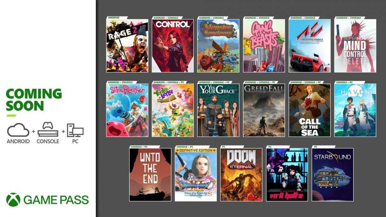 Xbox Game Pass: tutti i giochi di Dicembre 2020