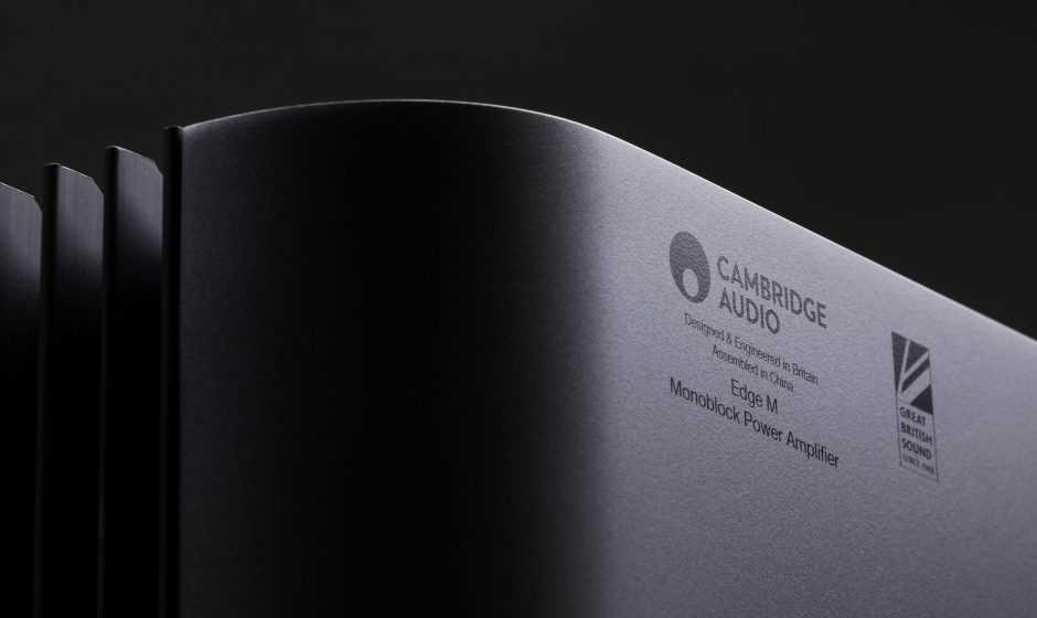 Cambridge Audio presenta l'amplificatore monofonico Edge M