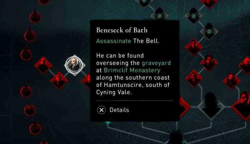 Assassin's Creed: Valhalla, dove trovare tutti i membri dell'Ordine degli Antichi