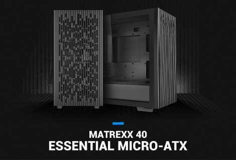 DeepCool lancia il nuovo case Matrexx 40 Micro-ATX