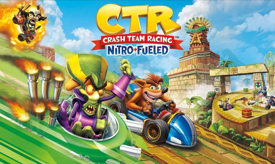 Crash Team Racing Nitro-Fueled in prova con Nintendo Switch Online