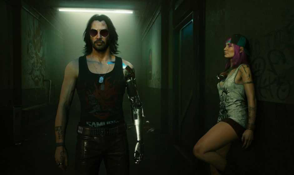Cyberpunk 2077: ecco il modello di Johnny Silverhand senza Keanu Reeves