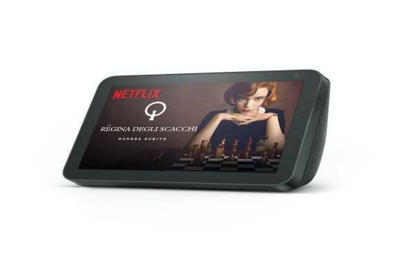 Amazon Echo Show: disponibile il catalogo Netflix
