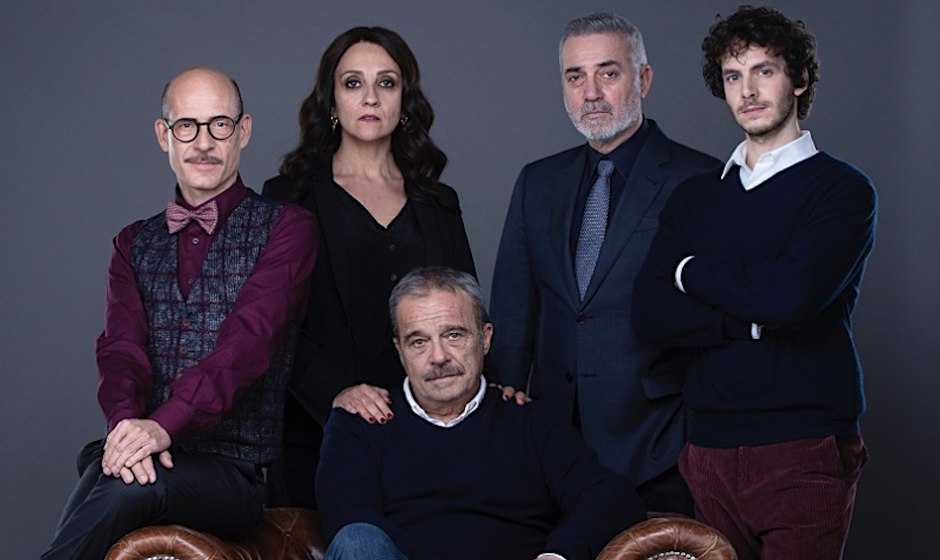 I Cassamortari: terminate le riprese della serie con Claudio Amendola