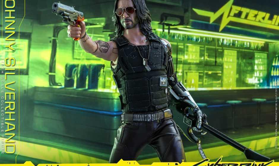 Cyberpunk 2077: arriva l'action figure di Johnny Silverhand