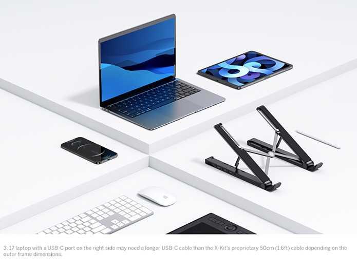 UGREEN X-Kit: la docking station che funziona come stand per laptop