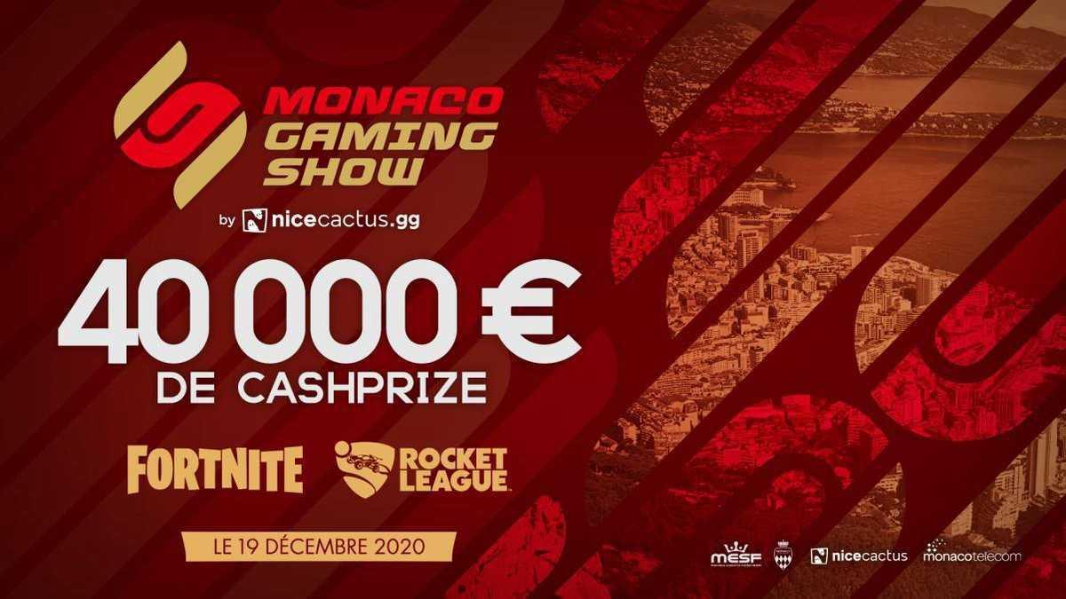 Monaco Gaming Show: al via il torneo con Fortnite e Rocket League
