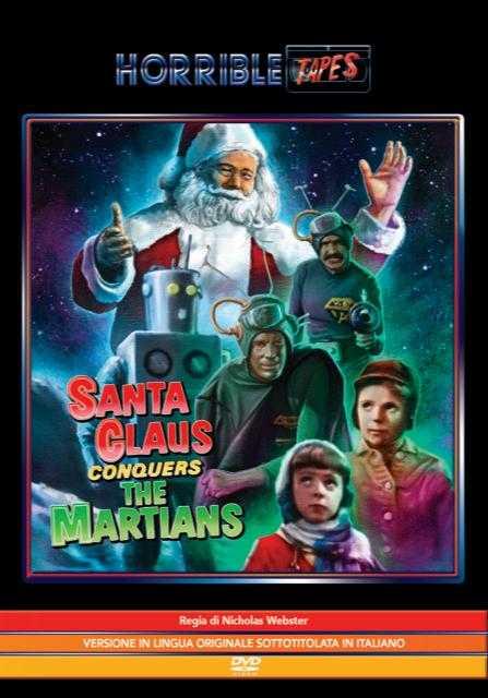 Il Natale da paura di Spaghetti Pictures Italia, da Santa Claus conquers the martians al film di Halloween di Quentin Tarantino